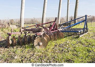 Agricultural tool,harrow - Agricultural tool, disc harrow...