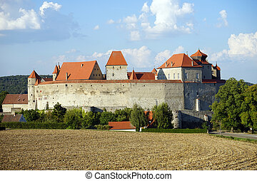 Schloss Harburg - HARBURG, GERMANY - CIRCA AUGUST 2015...