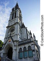 Notre-Dame de lrsquo;Immaculee-Conception - LOURDES, FRANCE...