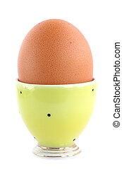 egg in stand