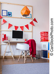 Functional schoolchild study room - Picture of functional...