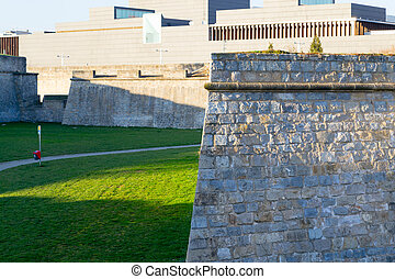 Pamplona walls - Citadel of Pamplona constructed between XV...
