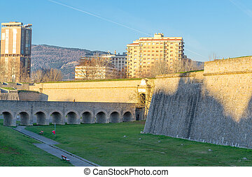 Fortification in Pamplona - Citadel of Pamplona constructed...