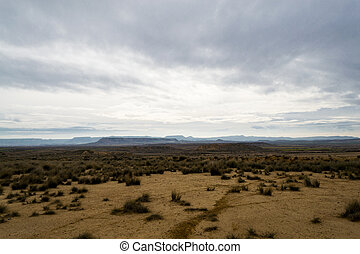 Bardenas badland - Bardenas reales recently became famous...
