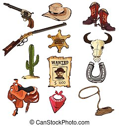 American Old Western Icons