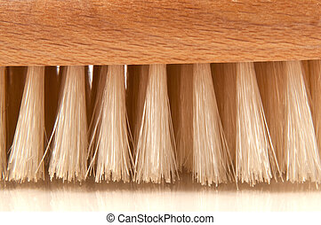 Brush bristles - Close and low level capturing the bristles...
