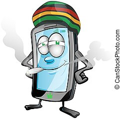 jamaican fun mobile cartoon