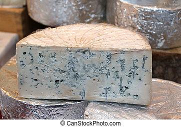fedorento, Gorgonzola, queijo, típico, de,...