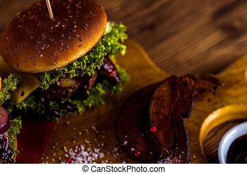 Ambient composition of American food