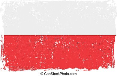 poland flag vector.eps