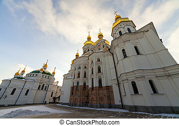 Kiev-Pechersk Lavra at winter