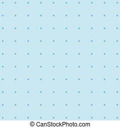 Polka dot grey pattern with circles.
