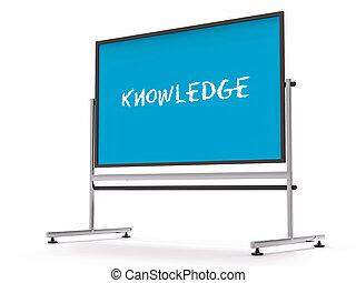 3D University Board Blank Space - 3D University Blue Board...