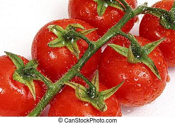 Tomaten, hintergrund
