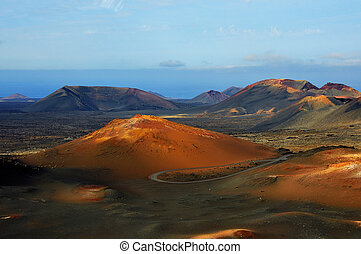 Lanzarote - Fire Mountains National Park Timanfaya Lanzarote...