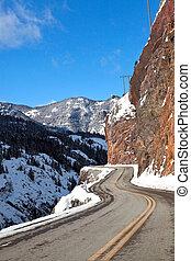 Million Dollar Drive - The Million Dollar Drive in Colorado,...