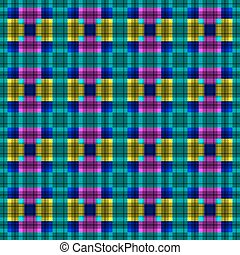 Geometric pattern. Vector art.