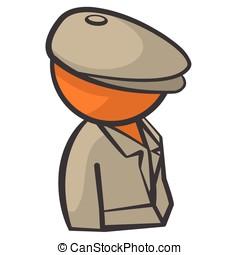Orange Person Detective