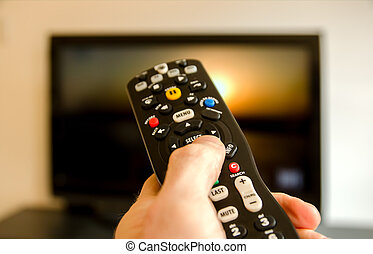 Remote control - Watching tv and using remote control