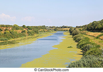Canal - Artificial Waterway Canal DTD in Vojvodina Serbia