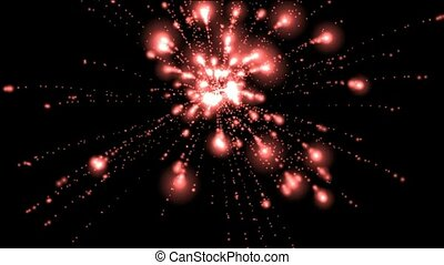 red fireworks,seamless loop,holiday,def