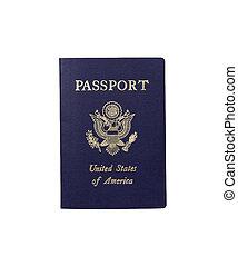 American Passport - United Stated of America Passport