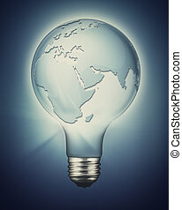 Sustainable development and renewable  power concept
