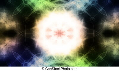 VJ Kaleidoscopic loop abstract X12S - Looping VJ...
