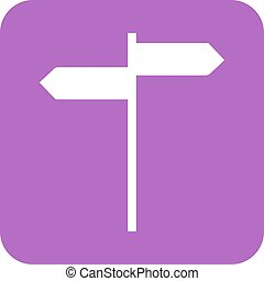 Directions - Hotel, way, direction icon vector image Can...