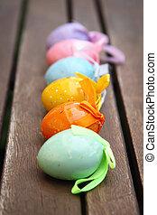 Eier, Ostern, Reihe