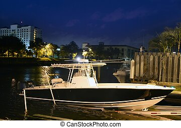 Florida Fort Lauderdale swordfish fishing boat - Florida...