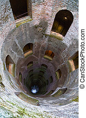 St Patricks Well Orvieto Umbria Italy