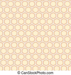Honeycomb abstract pattern