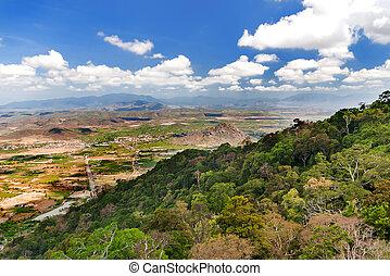 Impressive landscape from Ta Cu mountain, Binh Thuan...