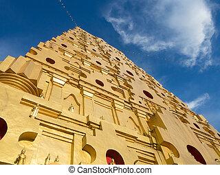 Bodhgaya Stupa in Thailand - Bodhgaya Stupa at Kanchanaburi,...
