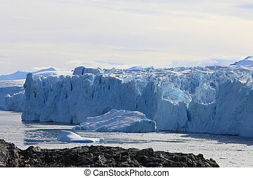Beautiful landscape in Antarctica, very remote area.