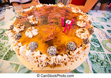 torta, compleanno