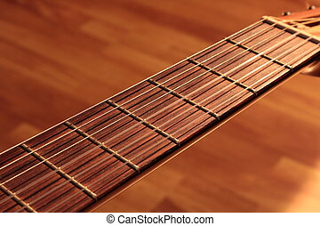Guitar strings on a stand, Guitar strings on a stand