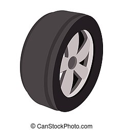 Wheel cartoon illustration - Wheel cartoon illustration....