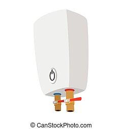 Boiler cartoon icon