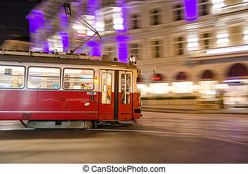 Wien Train - Wienner Cable Train, Wien Panning Photo