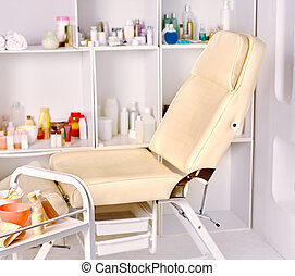 Interior of cosmetology salon - Interior of cosmetology...