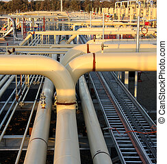 Energy sector - Natural gas pipeline
