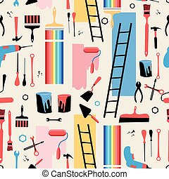 tools for the repair - Beautiful pattern building tools for...
