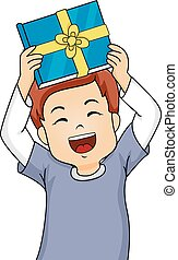 Kid Boy Gift Book Happy