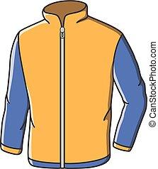 Casual jacket doodle illustration