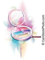 Colorful Make Up Design