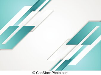 Abstract tech vector geometric background