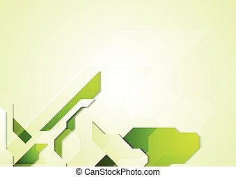 Abstract vector corporate technology background