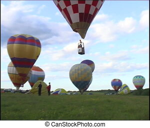 flying up - russian hot air balloon sport competitions
